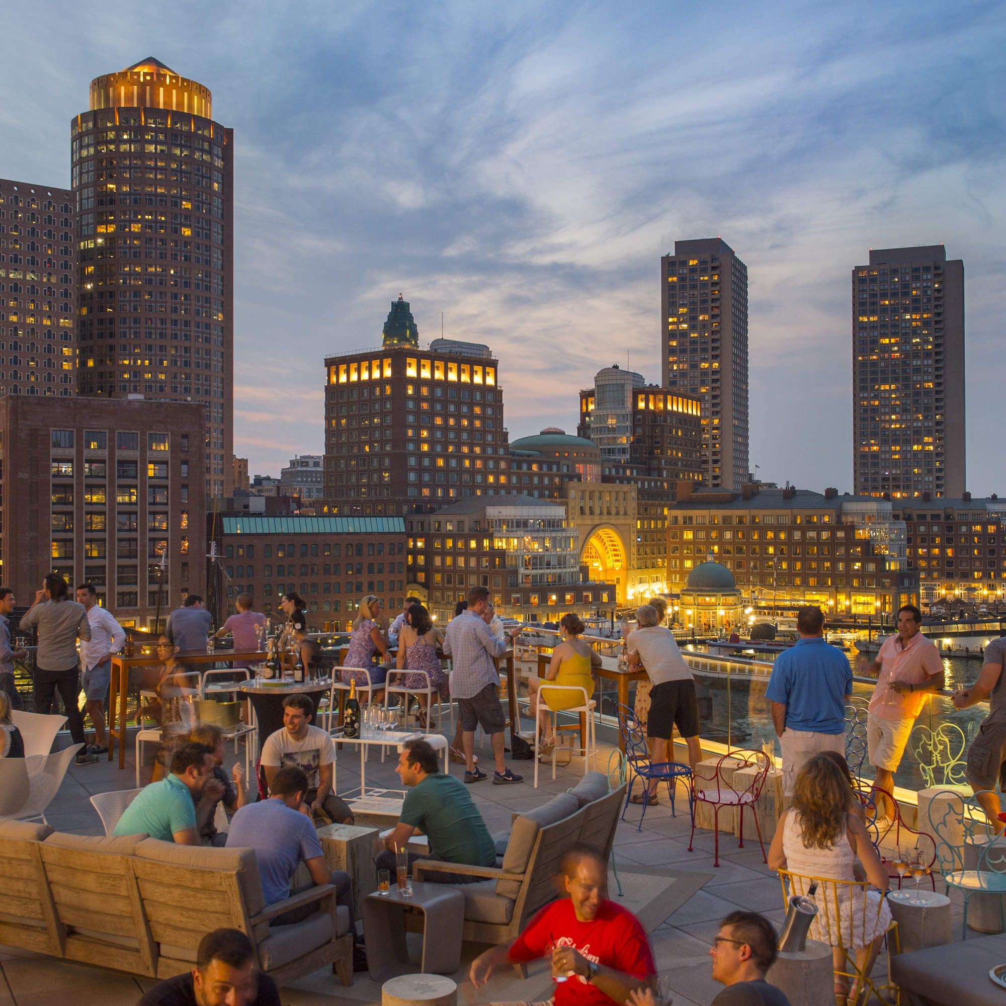 Boston Vacations Ideas: The 23 Best Rooftop Bars In America
