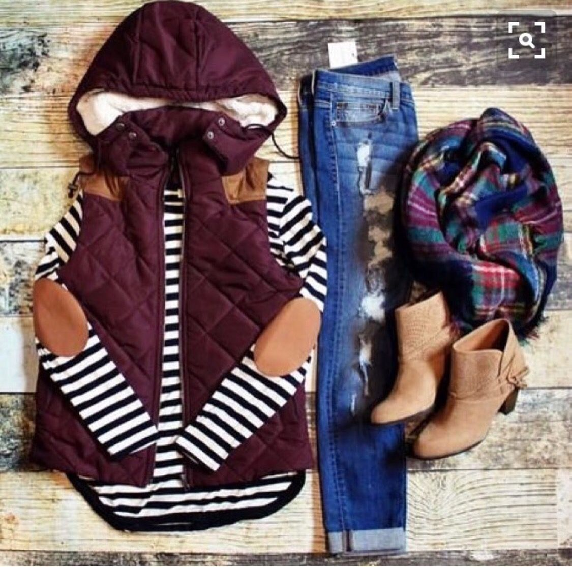 cute vest  Fall for FASHION  Pinterest  Clothes Fall winter and