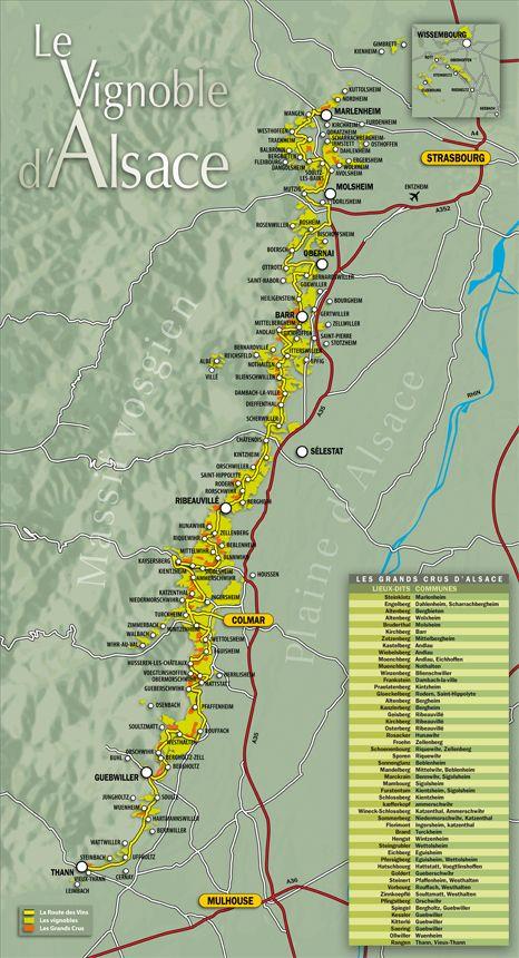 Route Des Vins Alsace France L Alsace Frankrig Steder Og Fotos