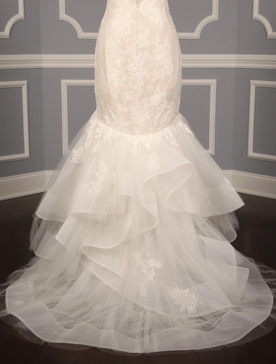 Monique Lhuillier Teagan Discount Designer Wedding Dress | Viels ...