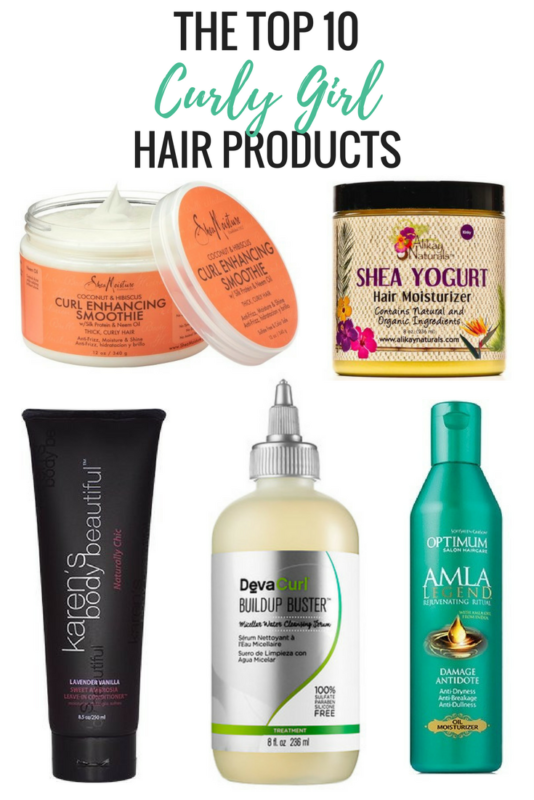 Top 10 Curly Girl Hair Care Products #naturalhaircareproducts