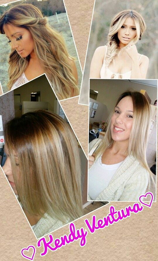 SANDY BLONDES And Balayage