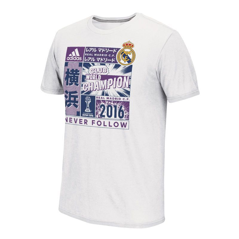 Camiseta del blanco Real Madrid adidas Champions 2016 del Club World Cup Champions blanco 0a5fe8a - omkostningertil.website