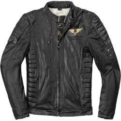 Black-Cafe London Teheran Motorrad Lederjacke Schwarz 52fc-moto.de #leatherjacketoutfit