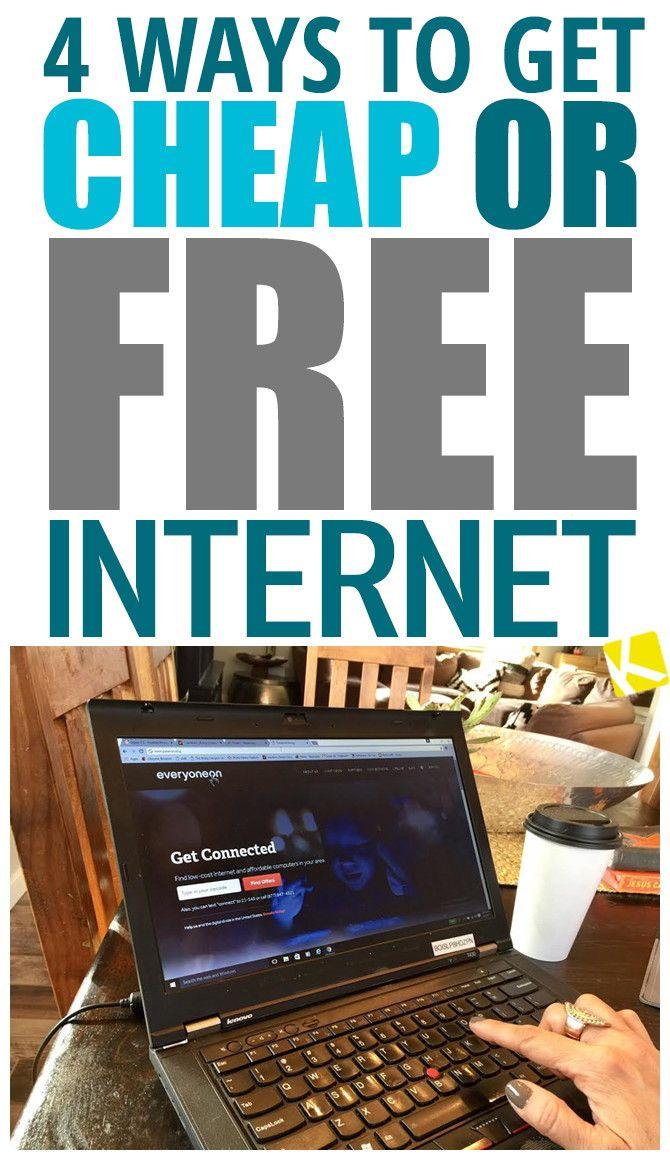 8 Ways To Get Cheap Home Internet Cheap Internet And Cable Cheap Internet Internet Cost