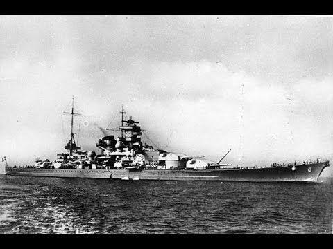 The End Of The Battlecruiser Scharnhorst Documentary Youtube