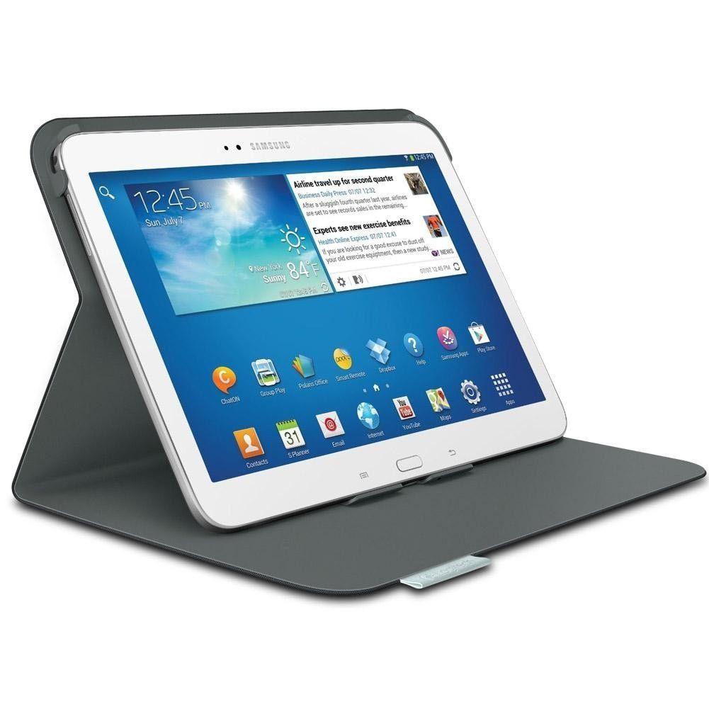 Logitech Folio for 10.1 Samsung Galaxy Tab 3, Carbon Black