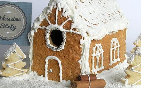 Casetta Di Natale Con Biscotti : Mos mea come realizzare una casetta di biscotti per natale tutorial