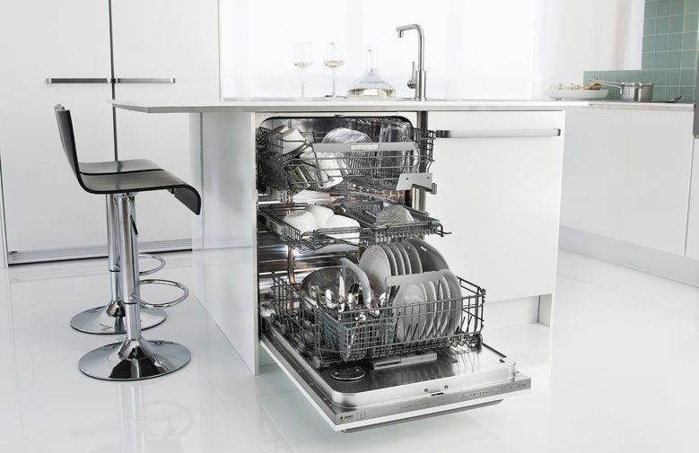 Asko Dishwashers Have A Very Low Energy And Detergent Consumption And Are Among The Most Water Efficient In Integrated Dishwasher Kitchen Space Kitchen Design