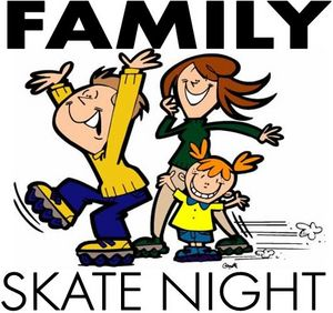 Image result for skate night clipart