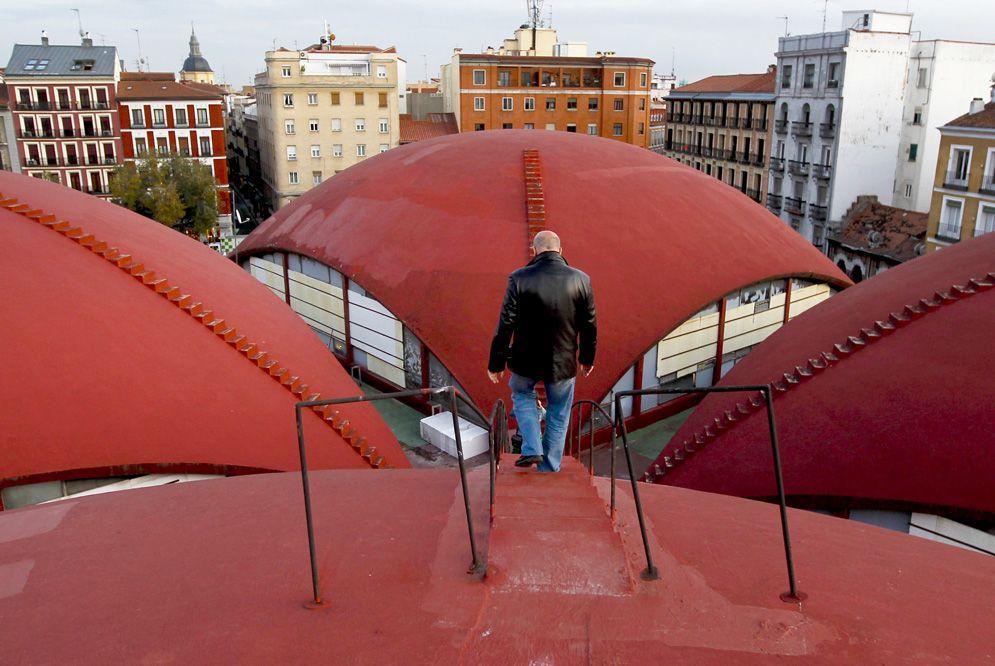 Bóvedas del Mercado de la Cebada, barrio de La Latina. Madrid