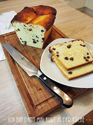 Ich bin dann mal kurz in der Küche: Die LISA Küchenflüsterin über die süßen Seiten des Lebens: Rosinenbrot