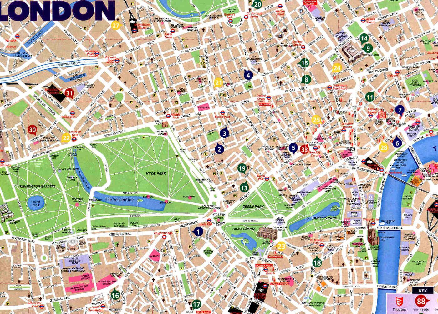 Sightseeing Map Of London.About Sightseeing In London I Can Write You A Whole Book But I