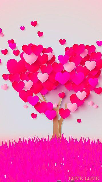 Pink Heart Wallpaper Valentines Wallpaper Heart Wallpaper Iphone Wallpaper
