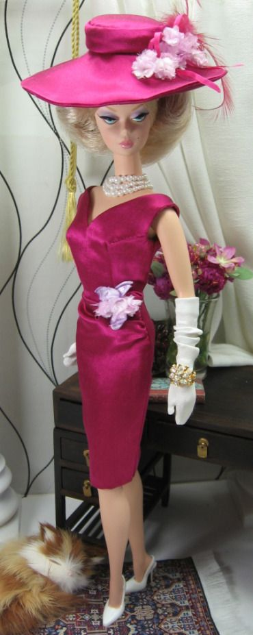 Summer Berry for Silkstone Barbie. May   2012
