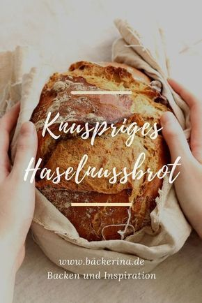 Crispy hazelnut bread recipe with pre-batter and overnight cooking