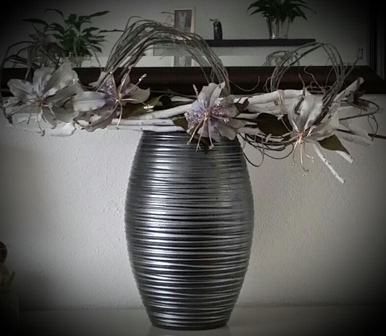 vaas met takken decoratie   Idee u00ebn voor het huis   Pinterest