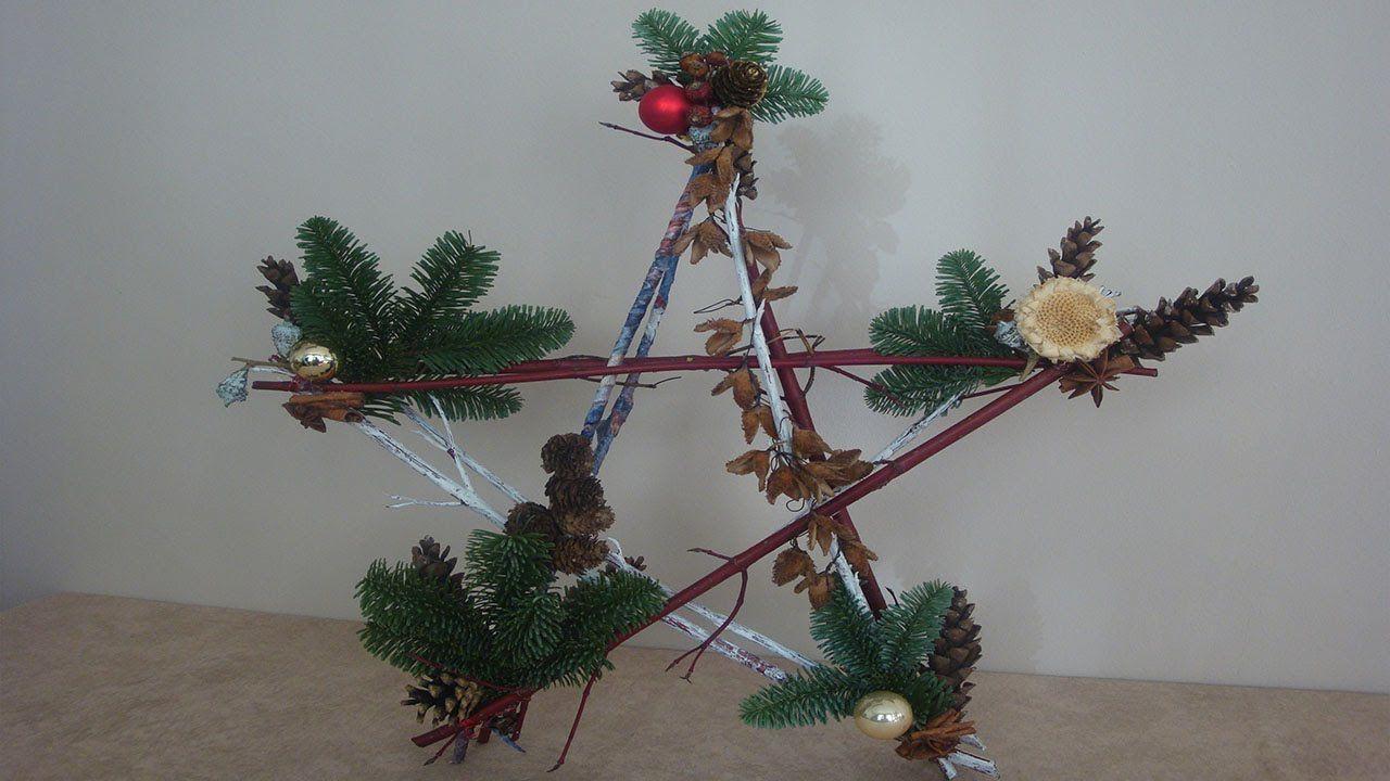 Dekoartikel selber machen eine sch ne dekoration zu weihnachten muss nicht teuer sein deko - Adventskranz selber machen youtube ...