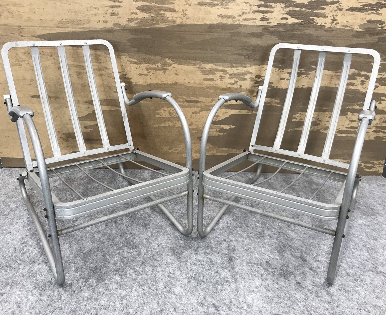 Vintage Jr Bunting Aluminum Outdoor Patio Chairs In 2020 Patio