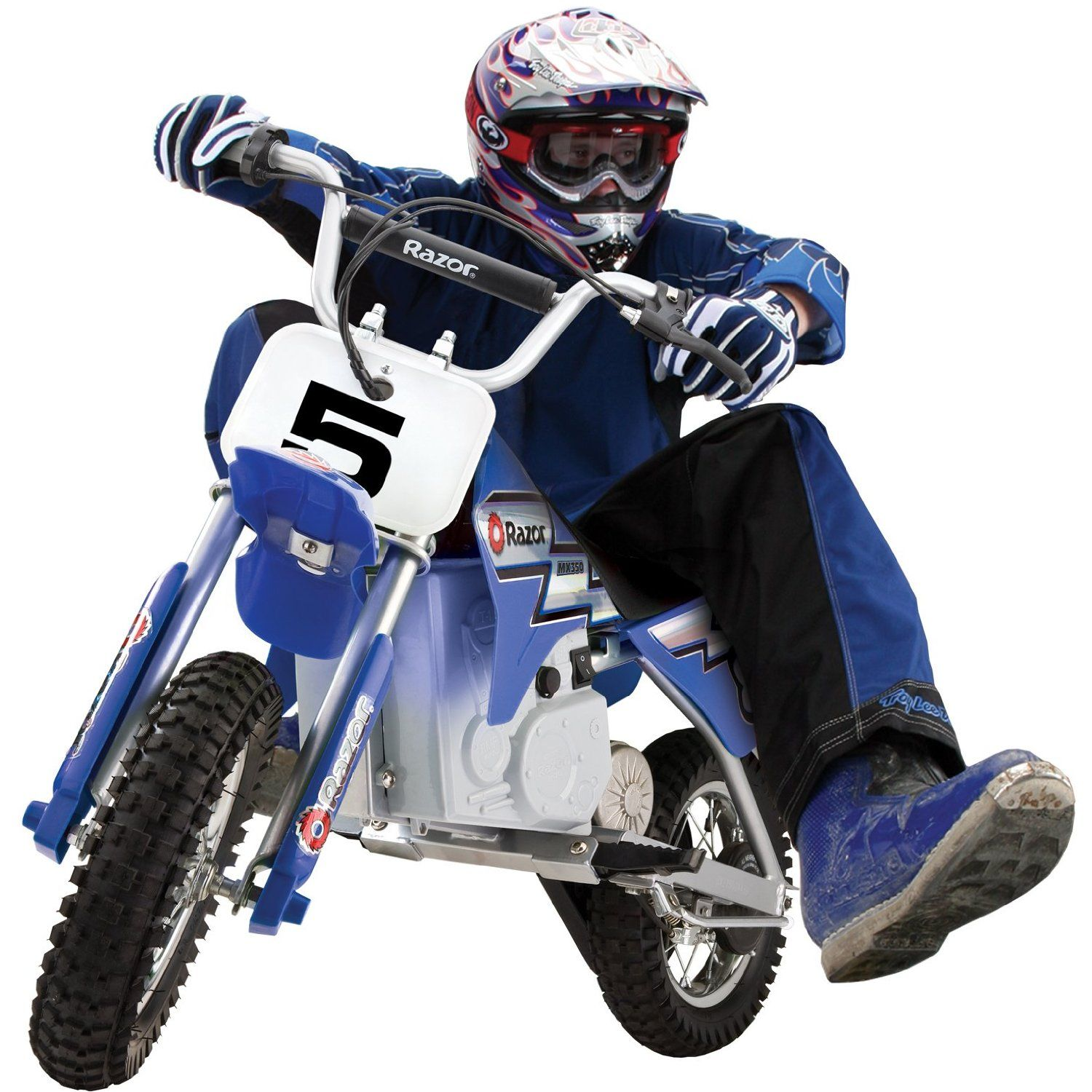 This Review Is From Razor Mx350 Dirt Rocket Electric Motocross Bike Sports I Purchased Four Of These At The Same Time I Have Three Six Year Olds And An Eig
