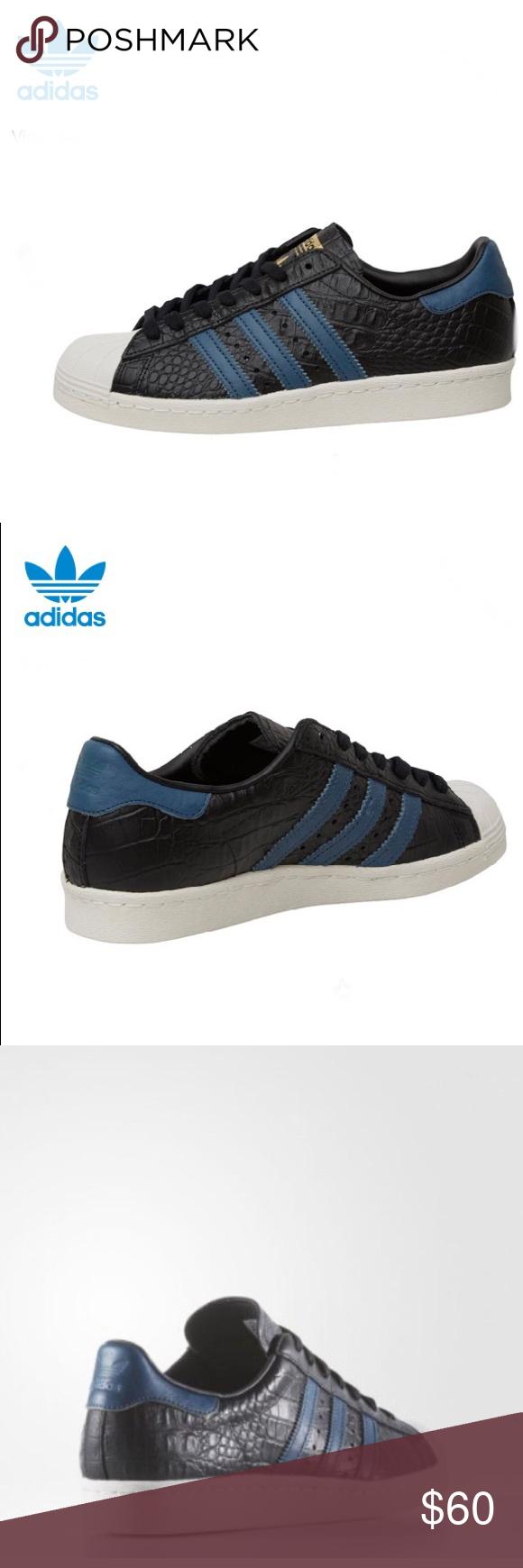 buy popular 9b4bf 08433 Adidas Superstar 80s Shoes Men's Core Black Adidas Superstar ...