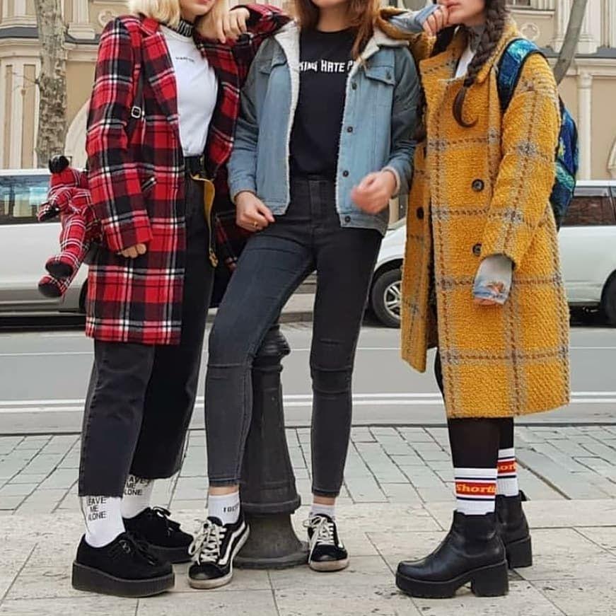 90s parka coat grunge style