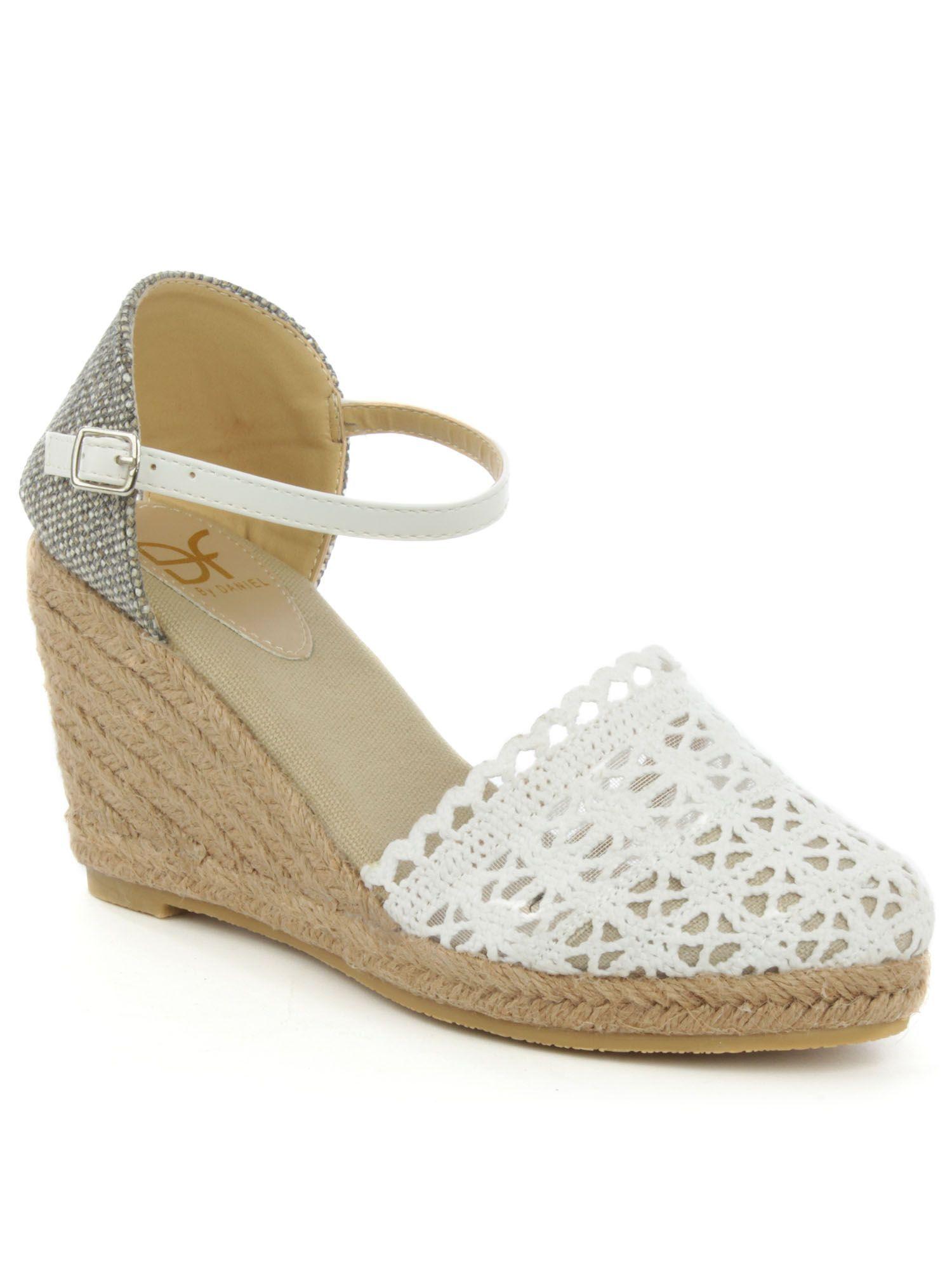 fe3cb892547 Daniel Kingscavil espadrille wedge sandals