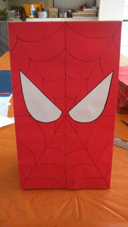 Bolsa Hombre araña Hombre araña Cumpleaños hombre araña