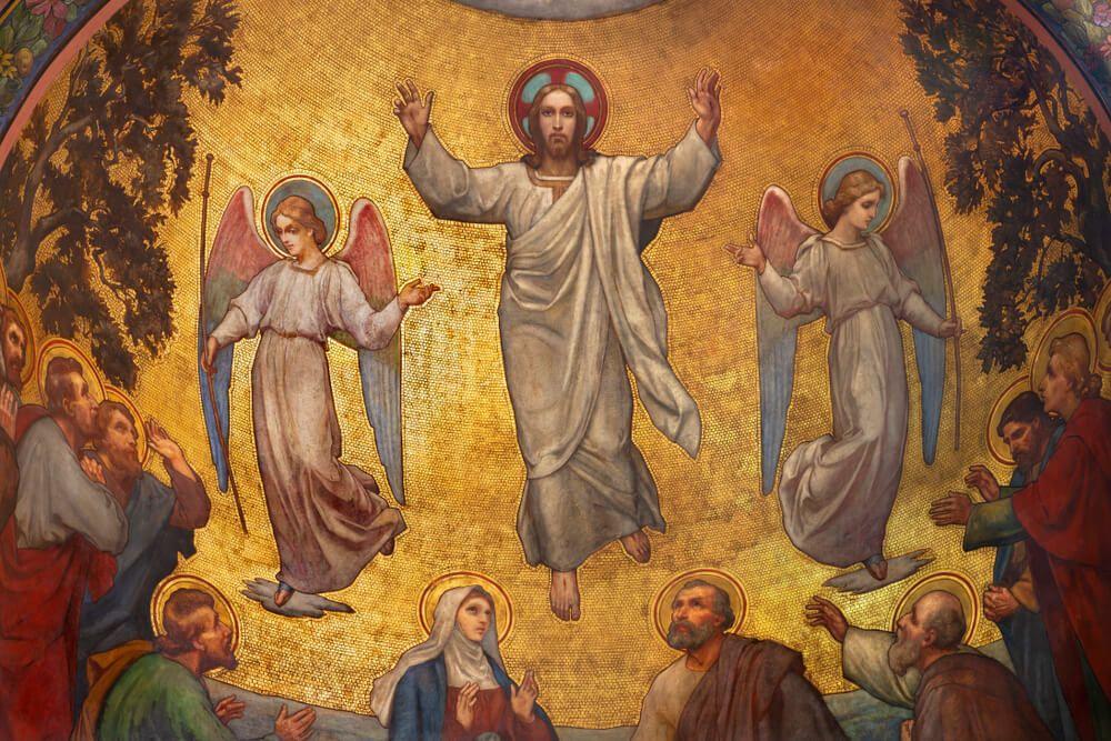 Ascension thursday jesus never abandons us ascension