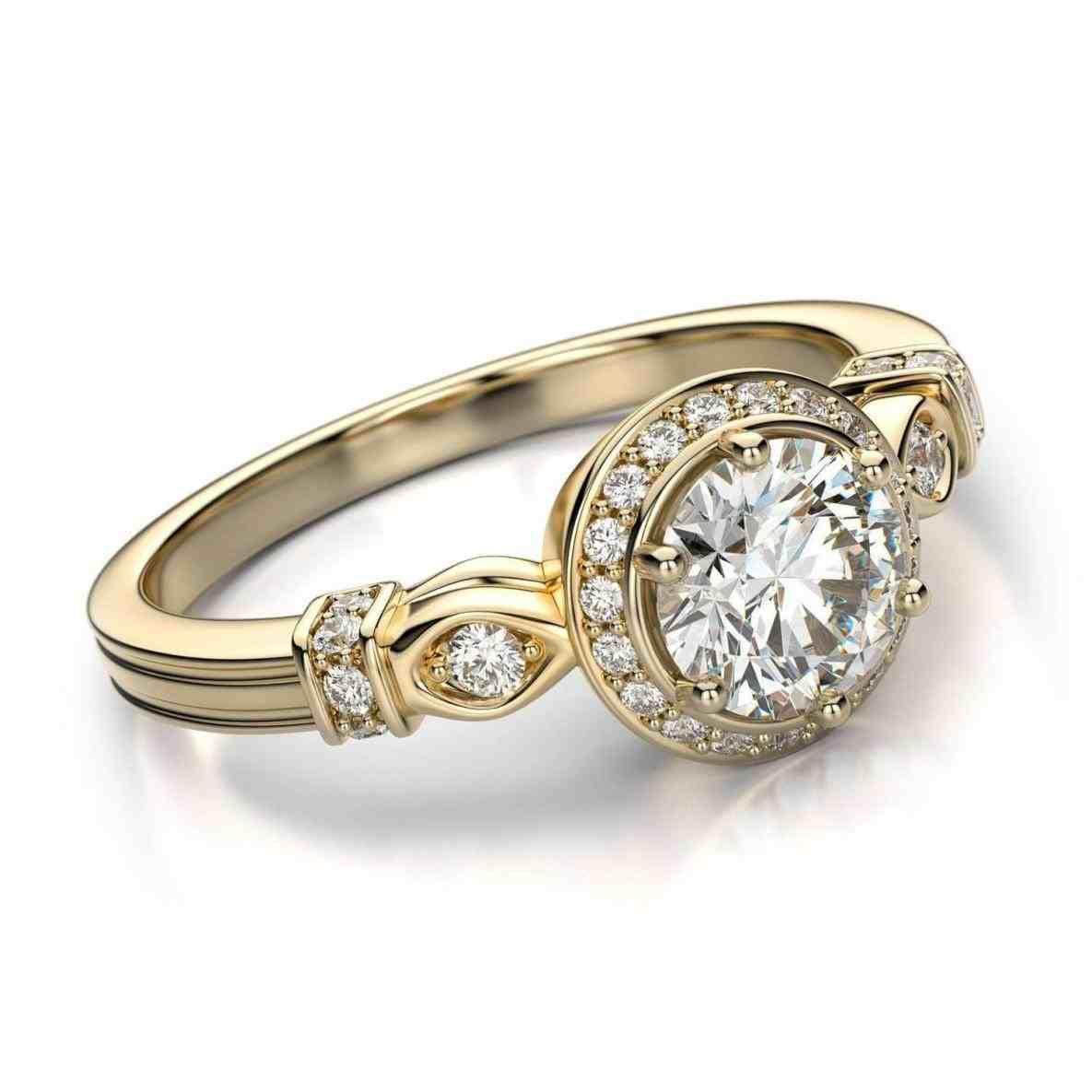 Top new post vintage style wedding ring visit wedbridalte