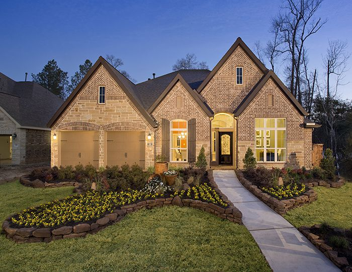 Perry Homes Woodforest Model Home Design 3257w Montgomery Tx Houstonhomes Designs By
