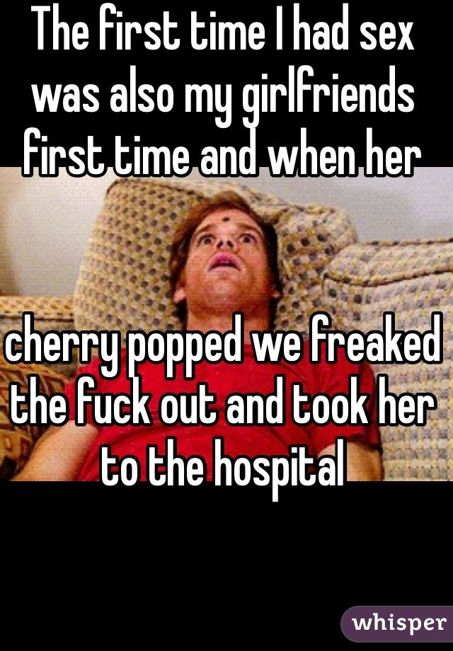 Popping girlfriends cherry
