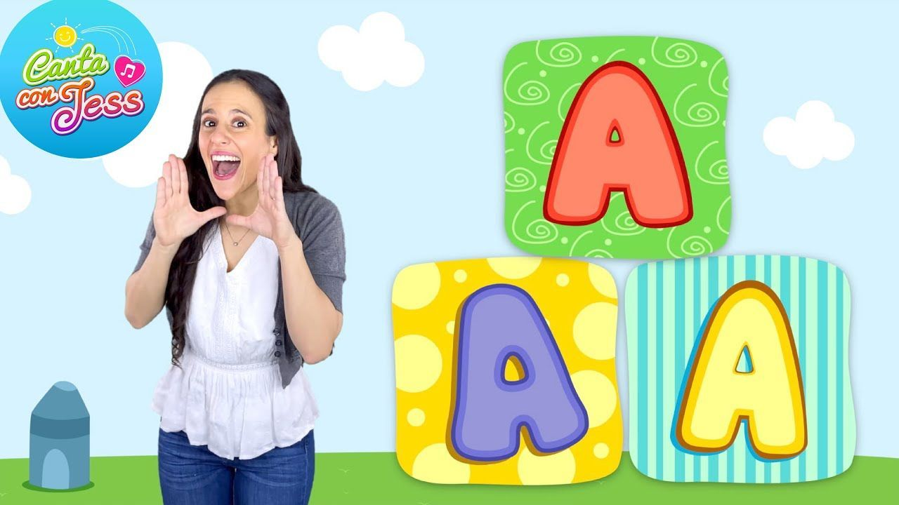 Letter A Song in Spanish Letter Sounds by a Native