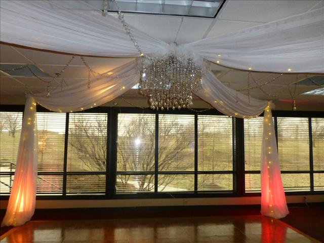 uplights used on Gazebo Dancefloor
