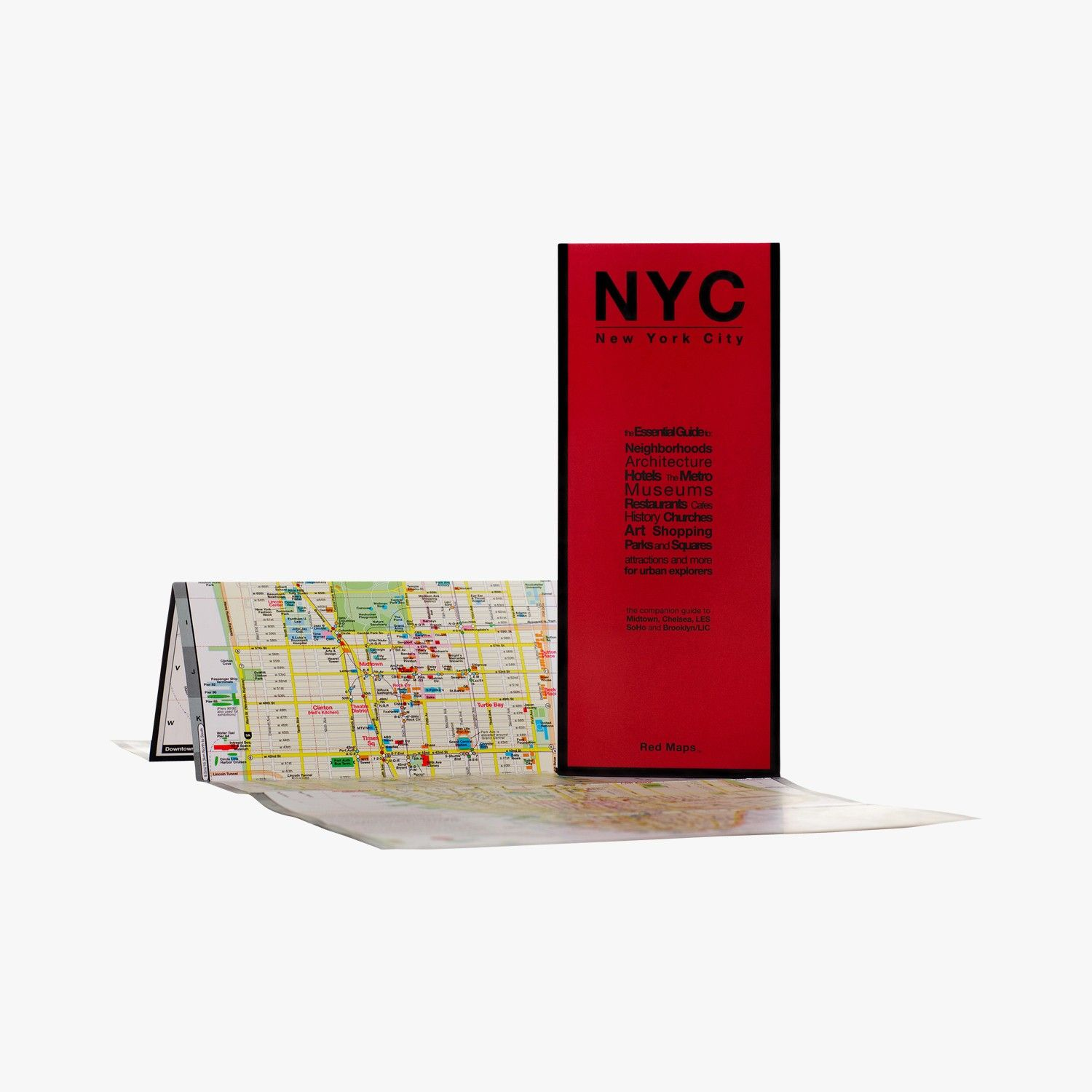 Red Maps New York City Find This Product On Bon Marche Website Le Bon Marche Rive Gauche Le Bon Marche Bon Marche Rive Gauche Horaire