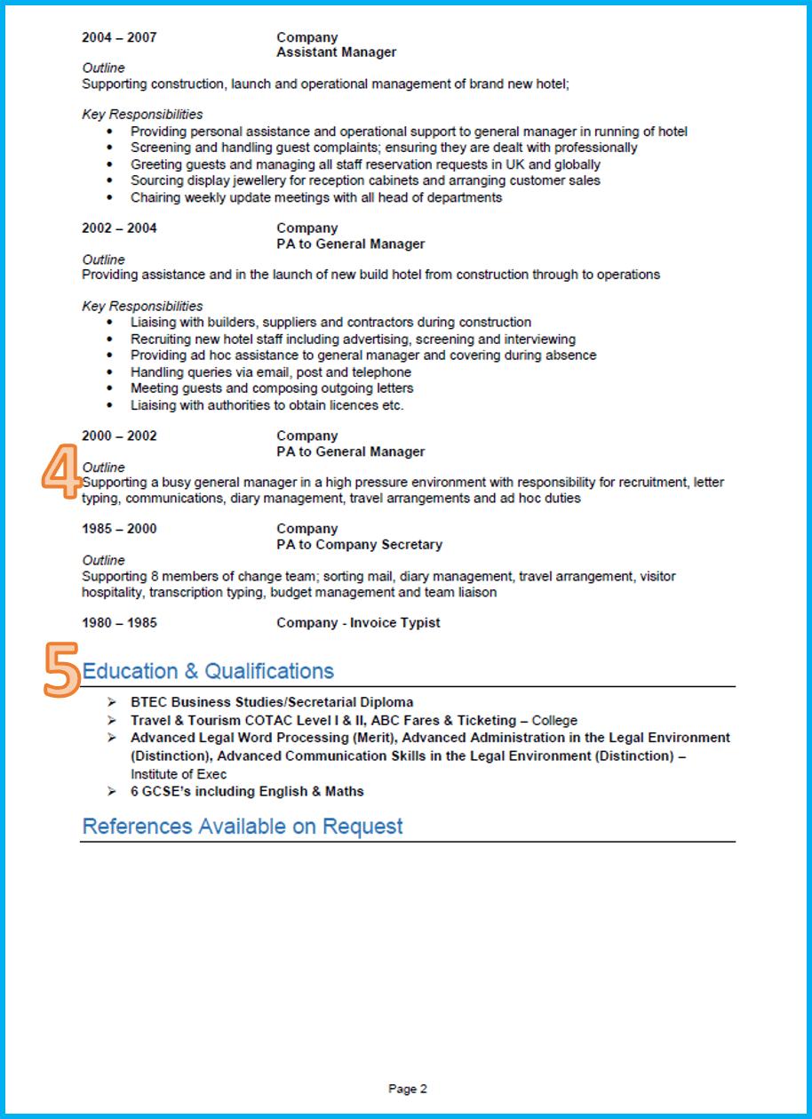 A Good Cv Template Cvtemplate Template Good Cv Best Cv Template Basic Resume Examples