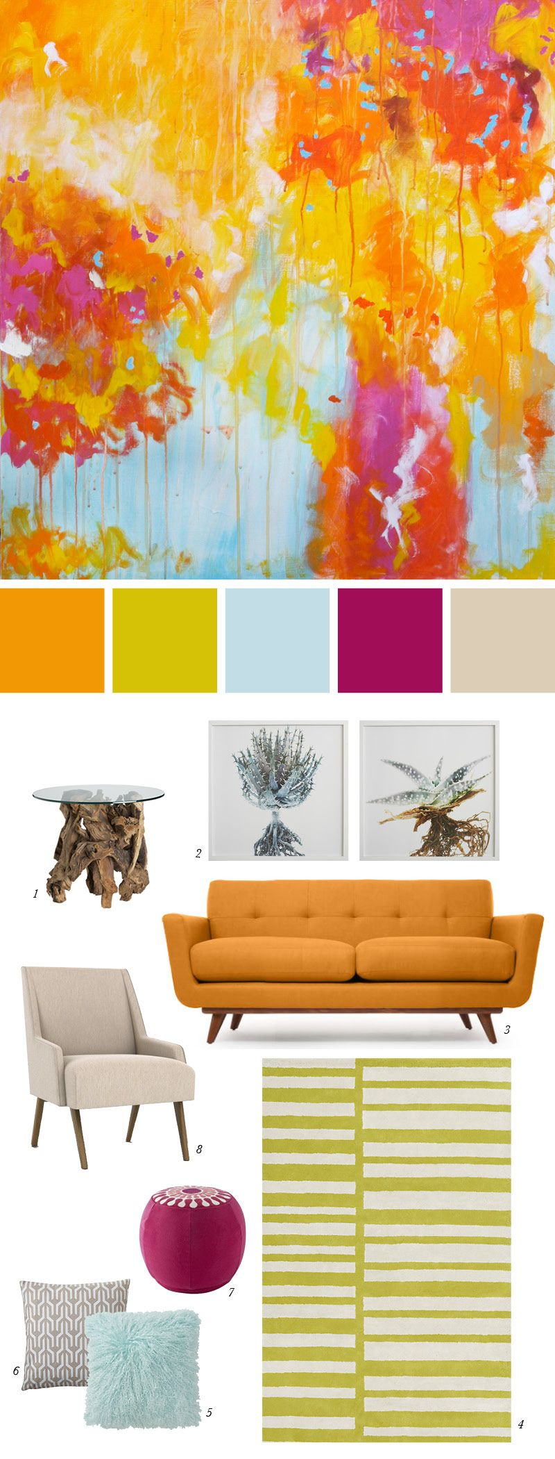 Paint Ideas for Living Room with Narrow Space - TheyDesign ...
