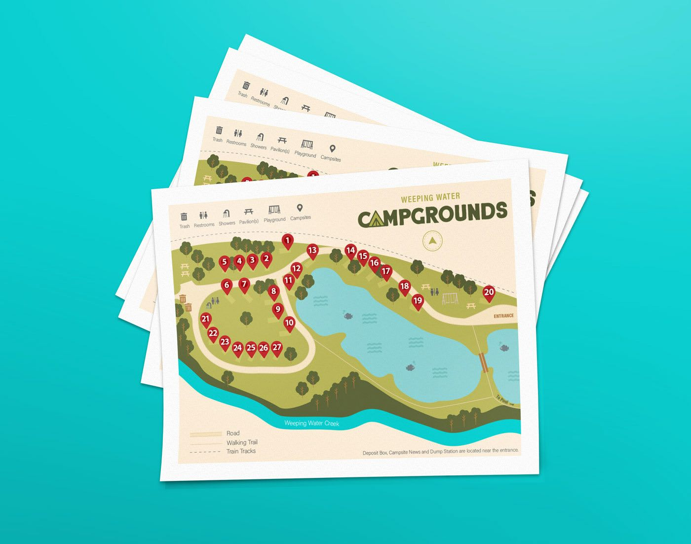 Campground Projects Photos Videos Logos Illustrations And Branding On Behance In 2020 Project Photo Branding Campground