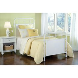 Jcpenney Com Elliot White Metal Bed Or Headboard White Metal Bed Hillsdale Furniture Home Decor