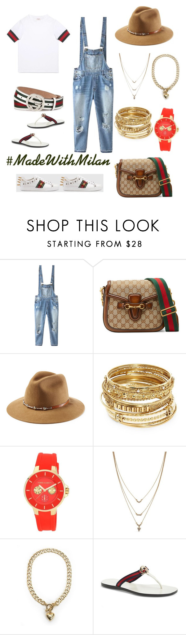 """Gucci 2x ❣"" by jaydamilan on Polyvore featuring Relaxfeel, Gucci, ále by Alessandra, ABS by Allen Schwartz, Vince Camuto, Jessica Simpson, Juicy Couture, gucci, allwhite and summerlook"