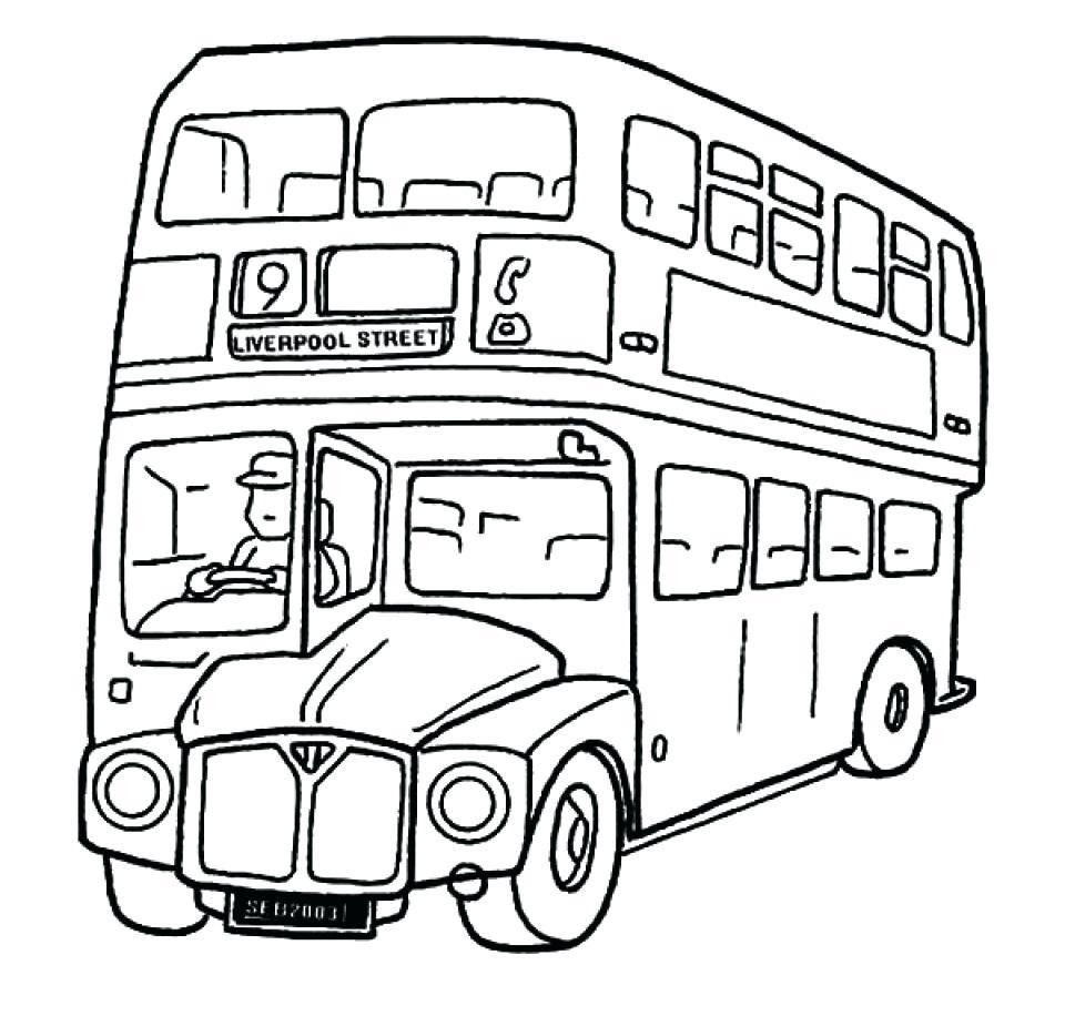 10 Images Of Bus Coloring Pages Coloring Images Pages Free