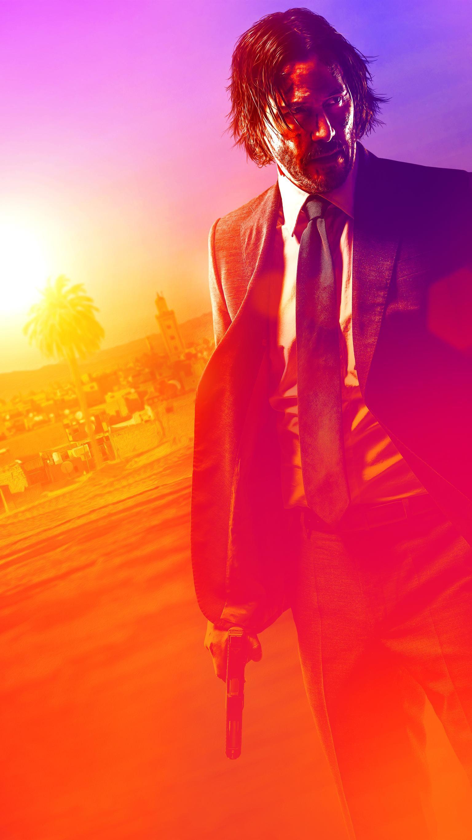 John Wick Chapter 3 Parabellum 2019 Phone Wallpaper Moviemania Marvel Movie Posters John Wick Hd John Wick Movie