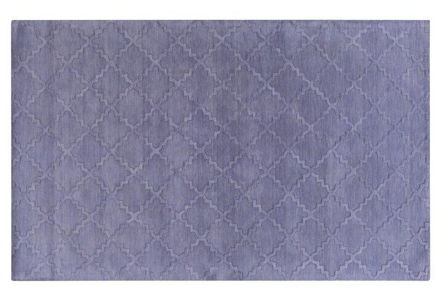 Meabh Flat-Weave Rug, Purple