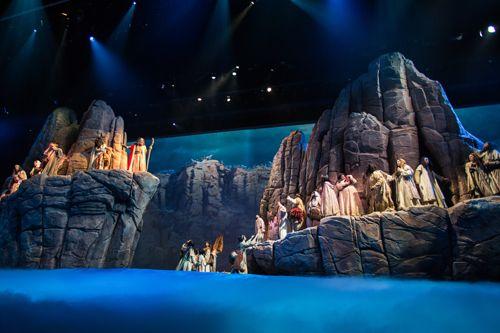 I Saw Moses Set Design Theatre Scenic Design Set Theatre