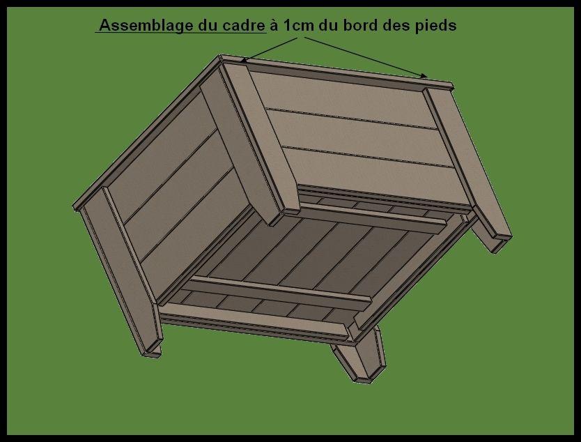 Fabrication d\u0027un bac à jardiner en bois de palette Meubles en