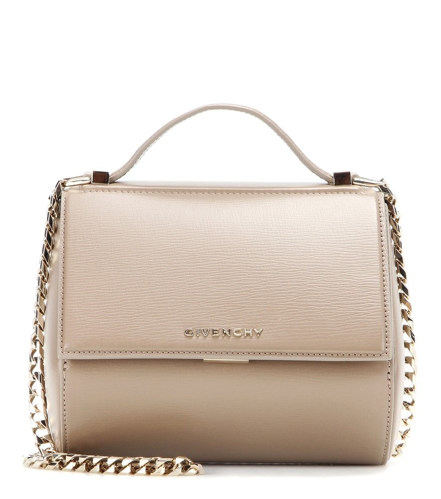 37e0fe02bf Givenchy - Pandora Box Chain leather shoulder bag - A modern accessory  loaded with attitude