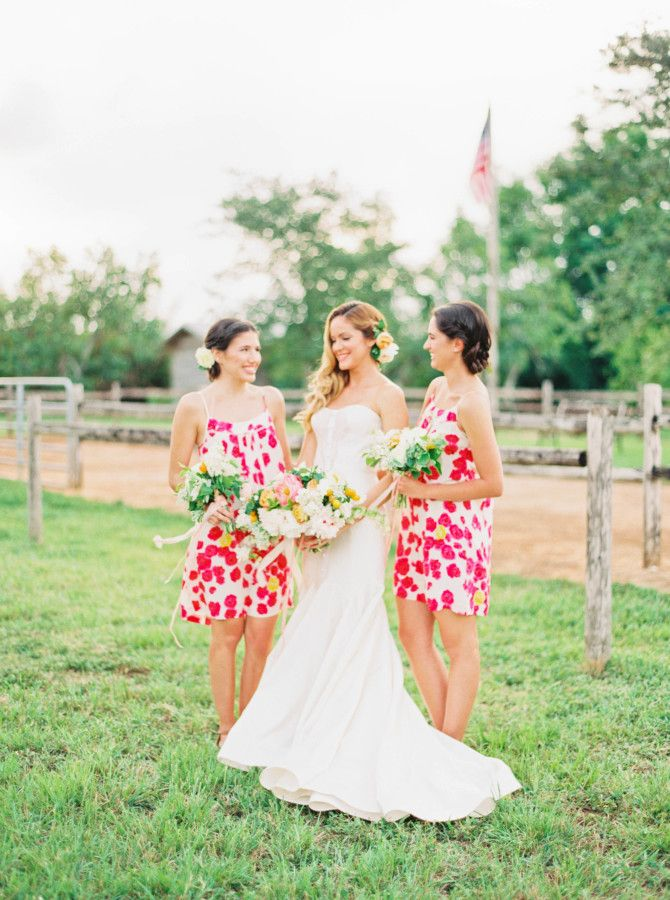 Short Fl Bridesmaid Dresses Florida Weddings Ilrated Michelle March Photography