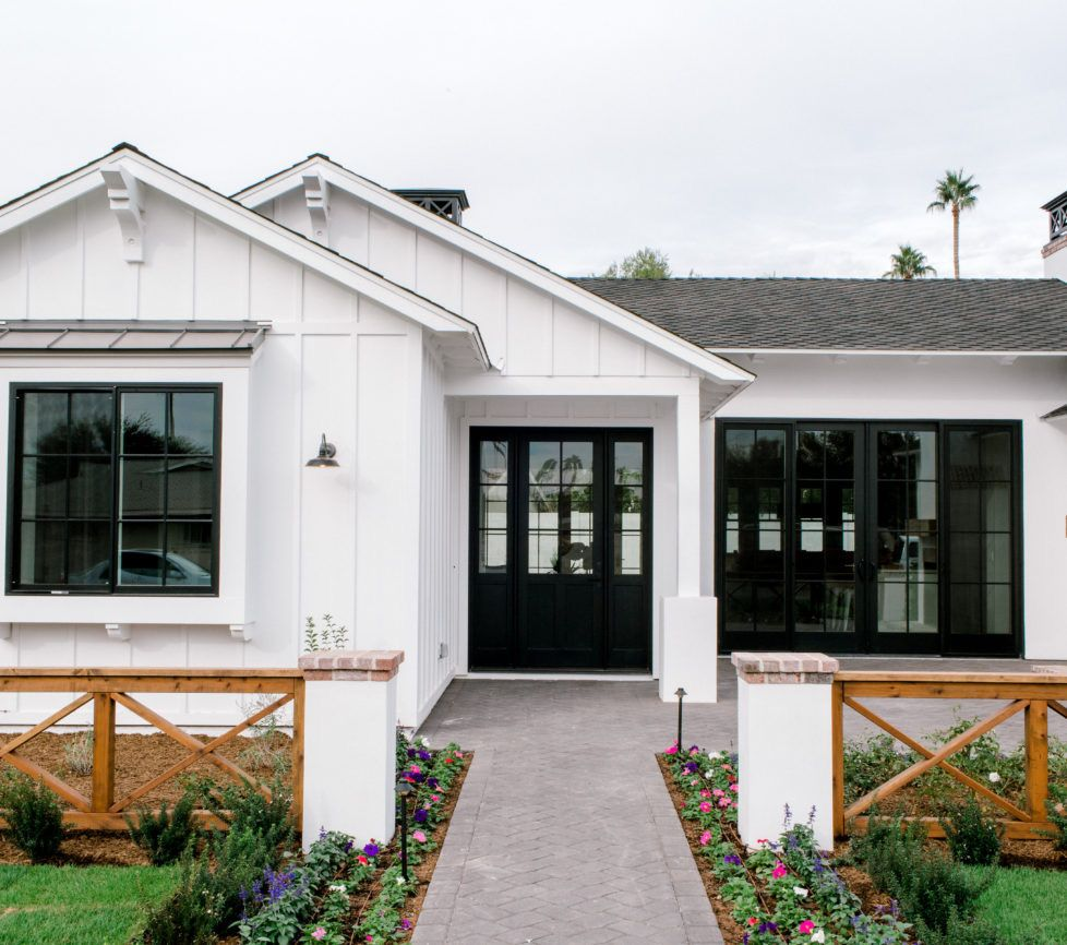 exterior-curb appeal in 2020   Ranch house exterior ...