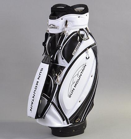 Sun Mountain Tour Series Golf Bags 2017 Cart Bag Black White