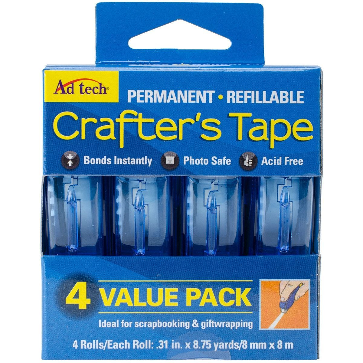 ad tech crafters tape refill